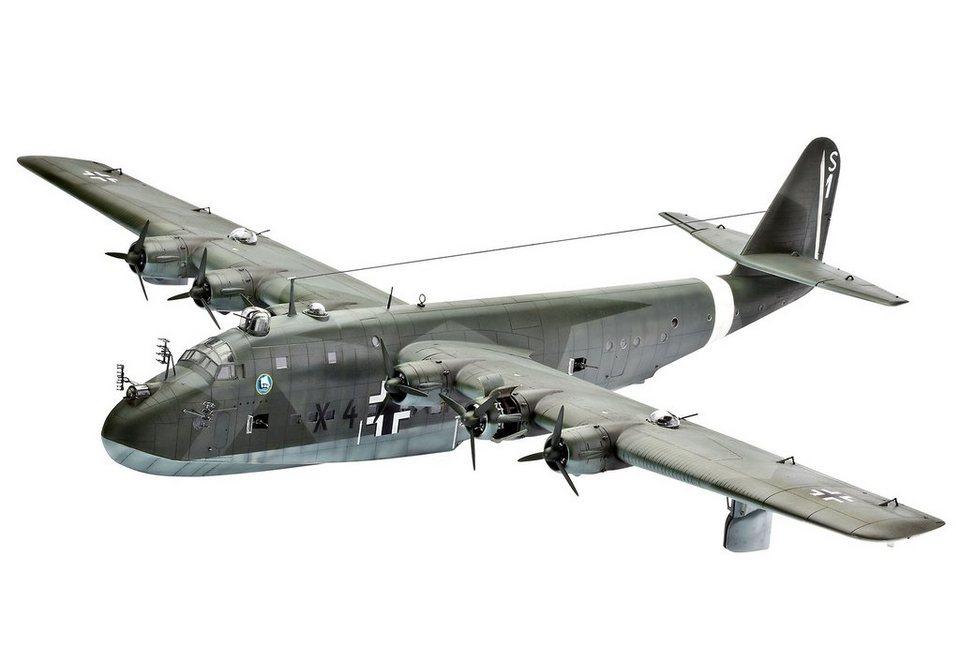 Revell® Modellbausatz Flugzeug, »Blohm & Voss BV222 Wiking«, 1:72 in grün