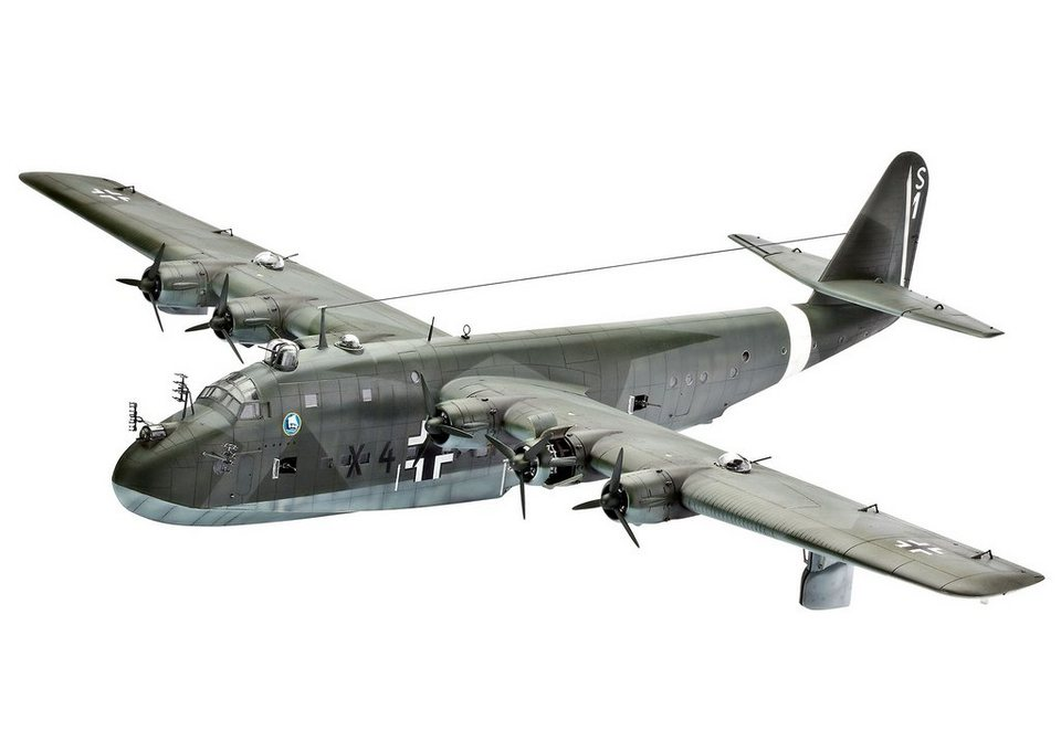 Revell® Modellbausatz Flugzeug, »Blohm & Voss BV222 Wiking«, 1:72