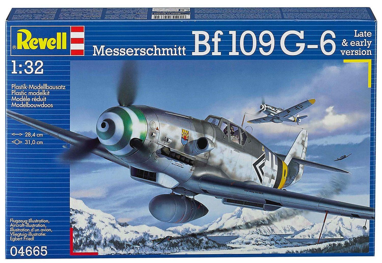 Revell® Modellbausatz Flugzeug, »Messerschmitt Bf109 G-6«, 1:32