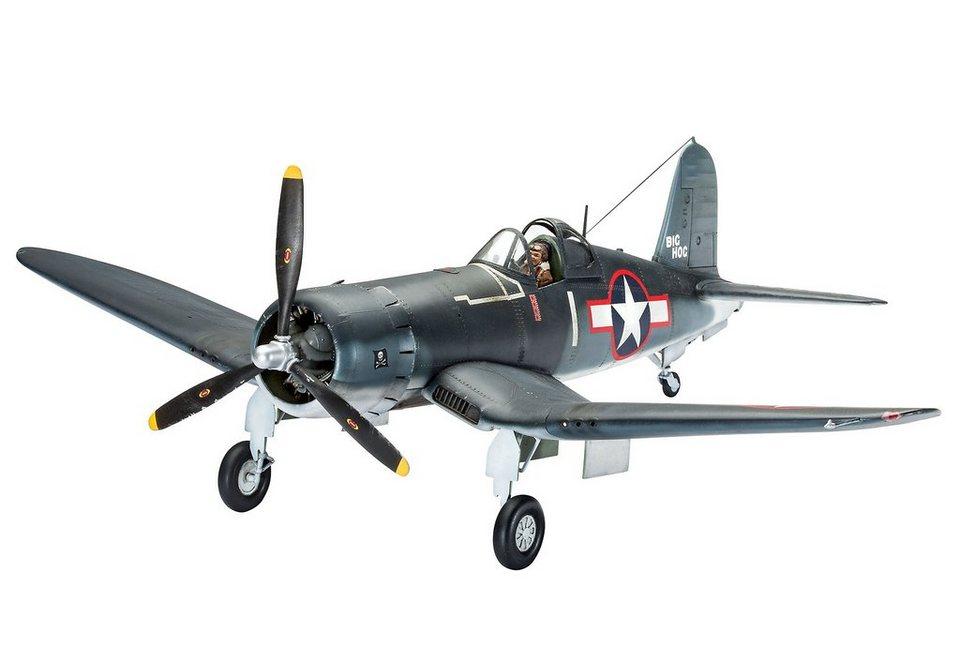 Revell® Modellbausatz Flugzeug, »Vought F4U-1A Corsair«, 1:32 in blau