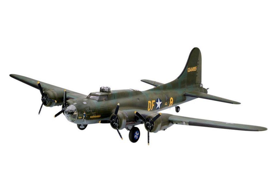 Revell® Modellbausatz Flugzeug, »B-17F Memphis Belle«, 1:48 in braun