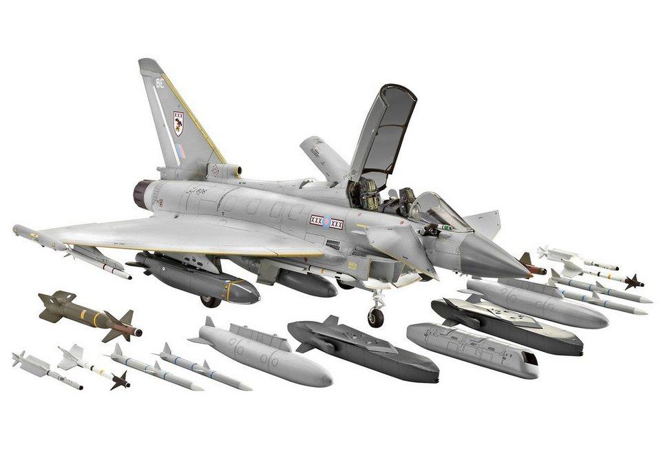 Revell® Modellbausatz Flugzeug, »Eurofighter Typhoon twin-seater«, 1:48 in grau