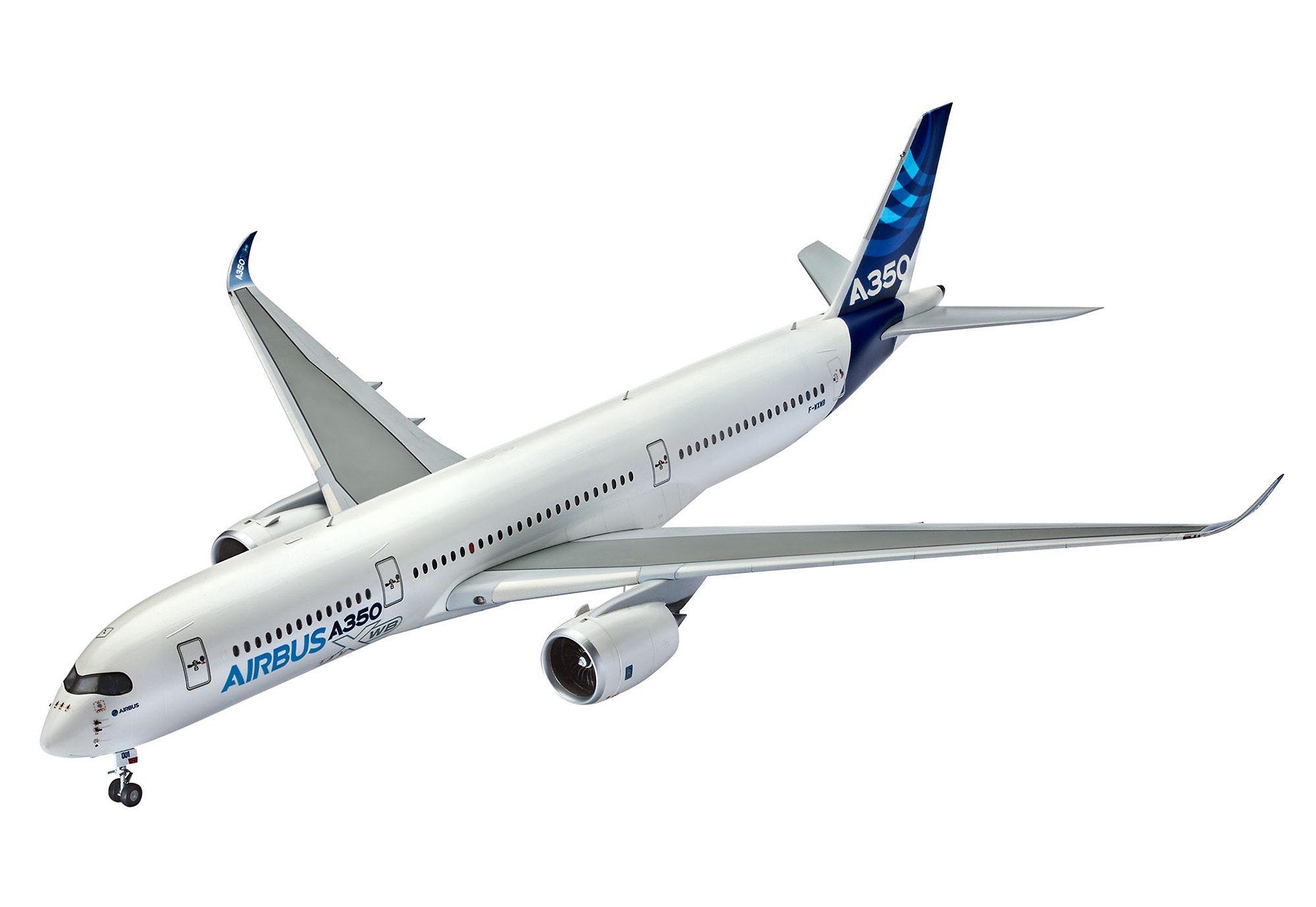 Revell® Modellbausatz Flugzeug, »Airbus A350-900«, Maßstab 1:144