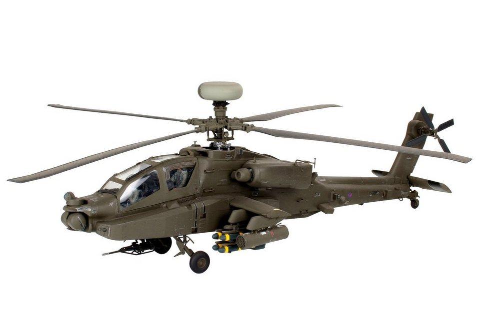 Revell® Modellbausatz Hubschrauber, »AH-64D/WAH-64D Longbow Apache«, 1:48 in grün