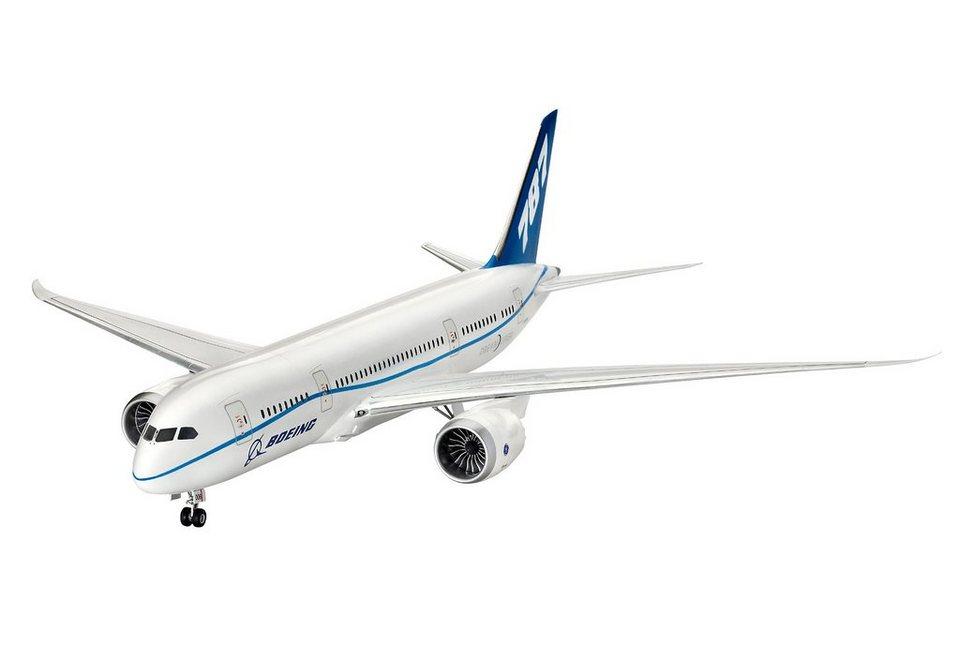 Revell® Modellbausatz Flugzeug, »Boeing 787-8 Dreamliner«, Maßstab 1:144 in weiß