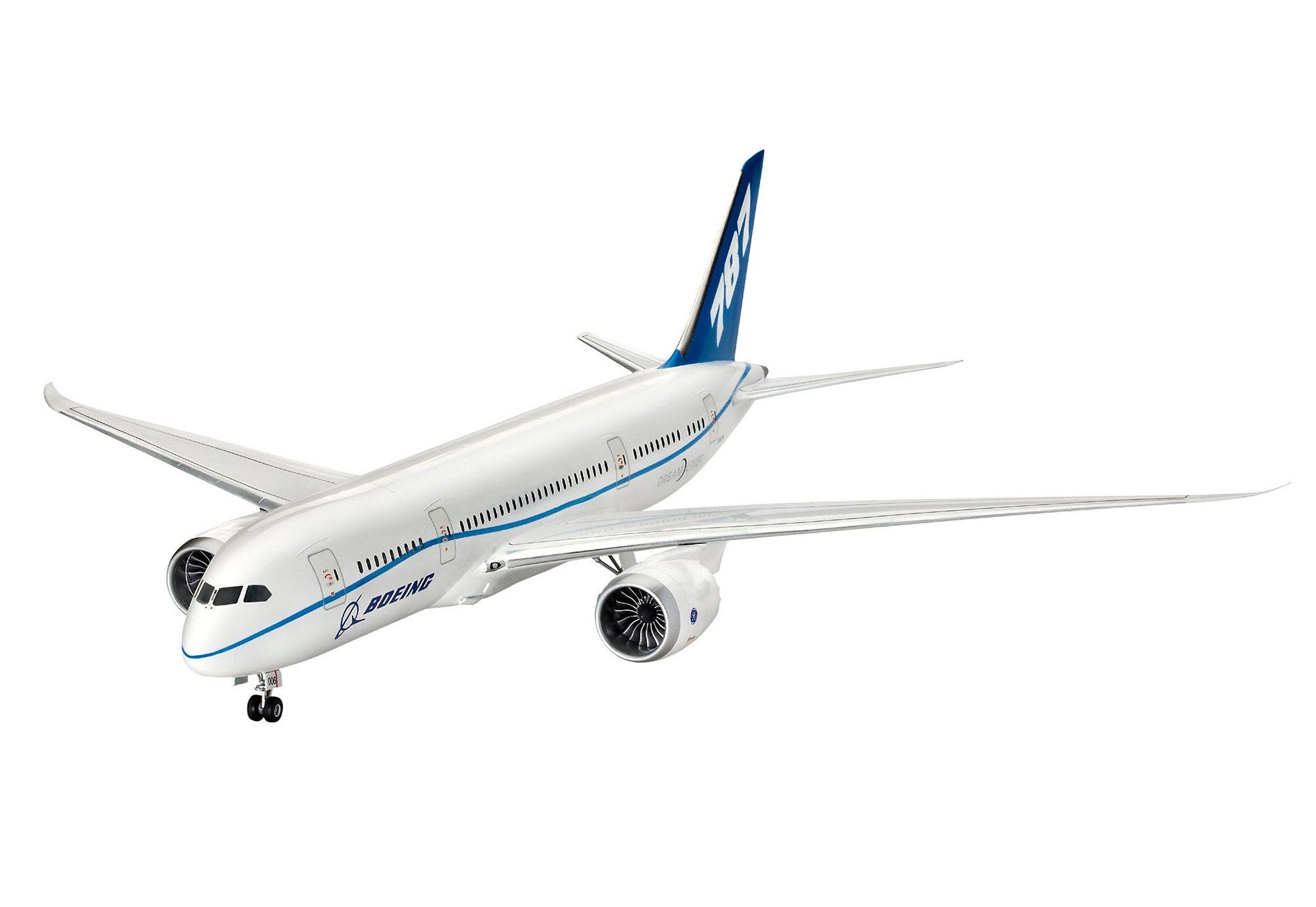Revell® Modellbausatz Flugzeug, »Boeing 787-8 Dreamliner«, Maßstab 1:144
