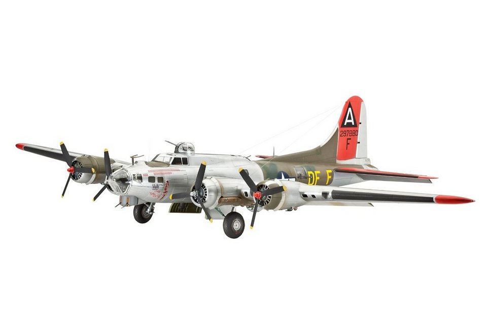 Revell® Modellbausatz Flugzeug, »B-17G Flying Fortress«, Maßstab 1:72 in bunt