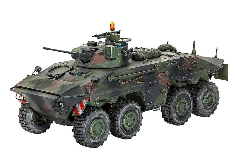 Revell® Modellbausatz Panzer, »SpPz 2 Luchs A1/A2«, Maßstab 1:35 in grün
