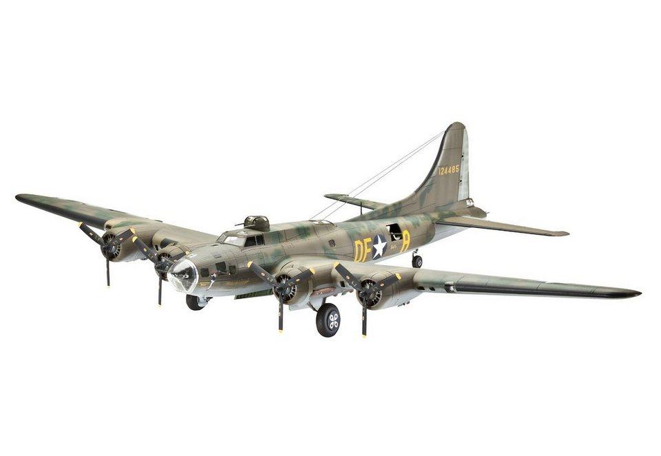 Revell® Modellbausatz Flugzeug, »B-17 Memphis Belle«, Maßstab 1:72 in grün
