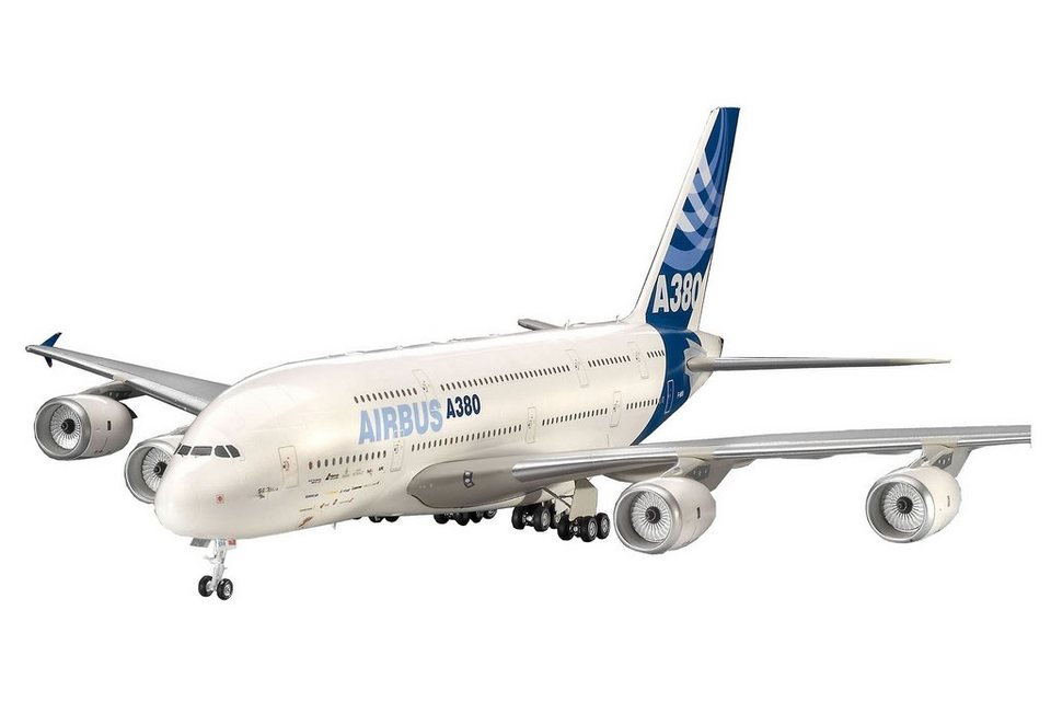 Revell® Modellbausatz Flugzeug, »Airbus A380 New Livery«, Maßstab 1:144 in weiß