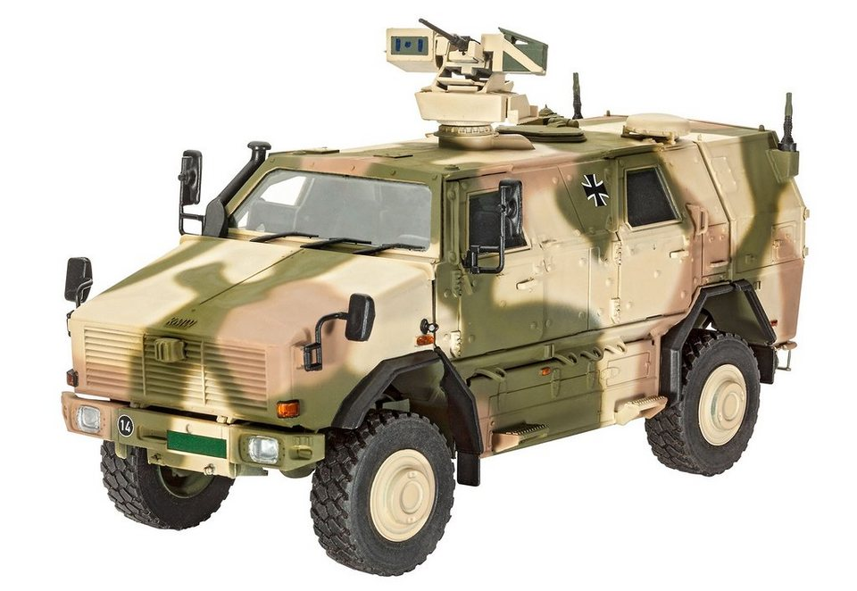 Revell® Modellbausatz Bundeswehrfahrzeug, »Dingo 2 GE A3.3 PatSi«, Maßstab 1:35 in braun/grün