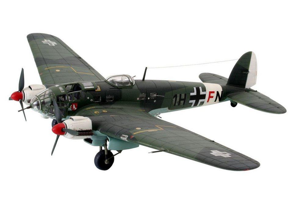 Revell® Modellbausatz Flugzeug, »Heinkel He111 H-6«, 1:72 in grün