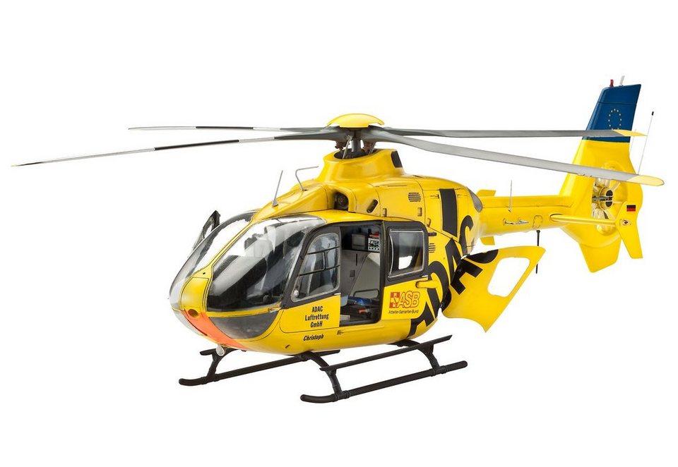 Revell® Modellbausatz Hubschrauber, »Eurocopter EC135, ADAC«, 1:32 in gelb