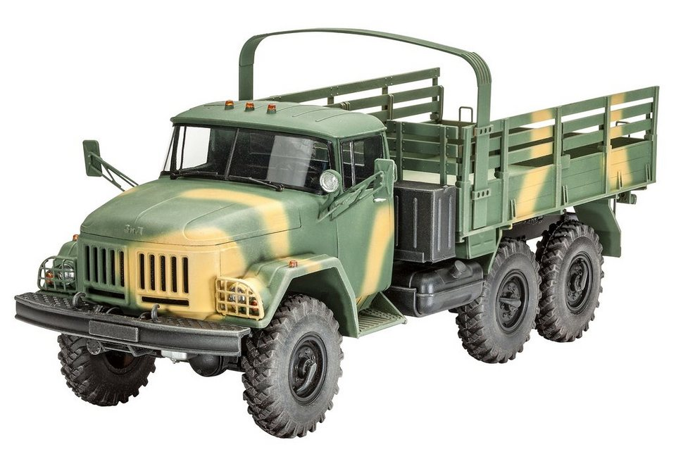 Revell® Modellbausatz Lkw, »ZiL-131«, Maßstab 1:35 in grün