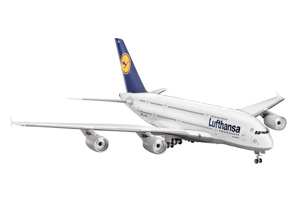 Revell® Modellbausatz Flugzeug, »Airbus A380-800 Lufthansa«, Maßstab 1:144