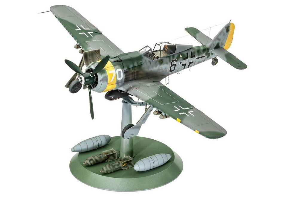 Revell® Modellbausatz Flugzeug, »Focke Wulf Fw190 F-8«, 1:32 in bunt