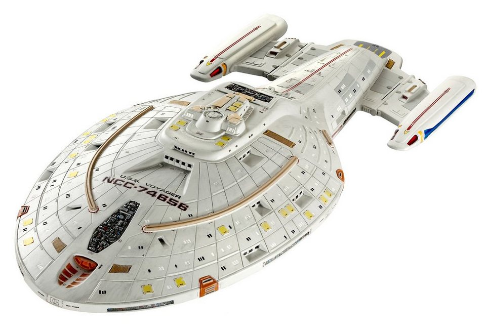 Revell® Raumschiff Modell, »Star Trek - U.S.S. Voyager« in grau