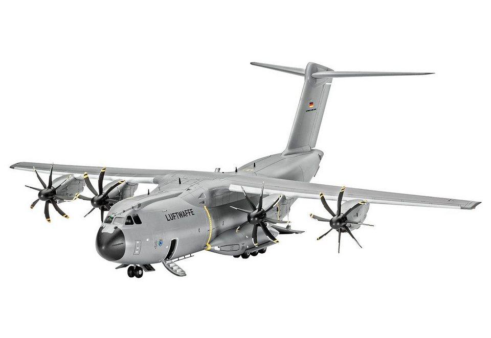 Revell® Modellbausatz Flugzeug, »Airbus A400M Atlas«, 1:144 in grau