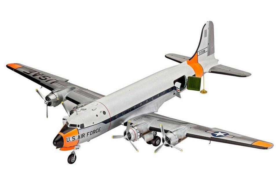 Revell® Modellbausatz Flugzeug, »C-54D Skymaster«, 1:72 in grau