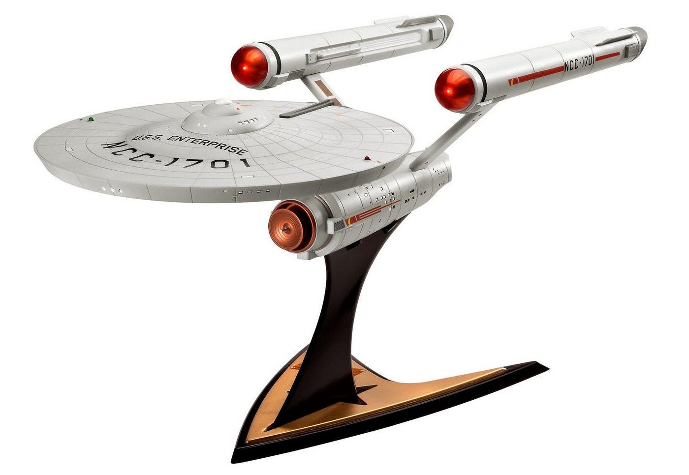 Revell® Modellbausatz Raumschiff, »Star Trek - U.S.S. Enterprise NCC-1701«, 1:600