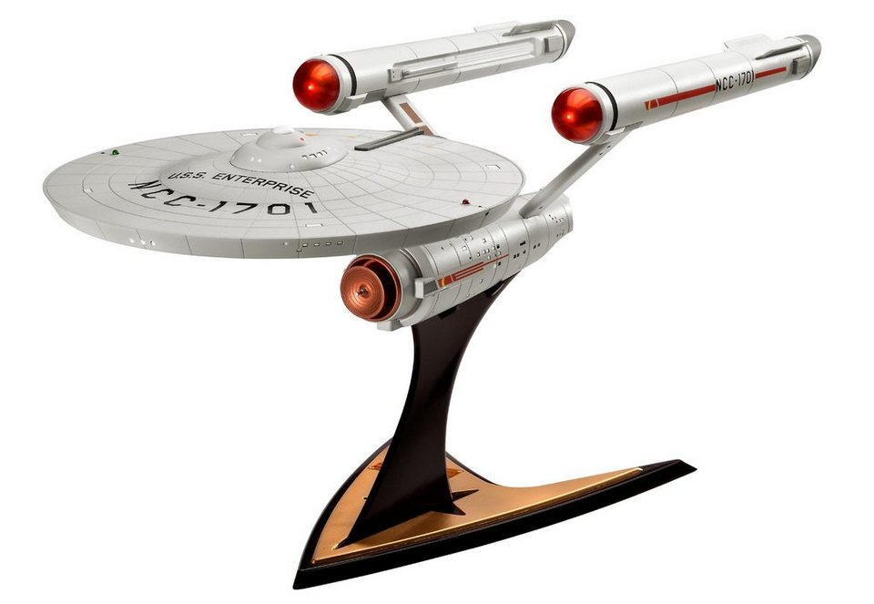 Revell® Modellbausatz Raumschiff, »Star Trek - U.S.S. Enterprise NCC-1701«, 1:600 in grau