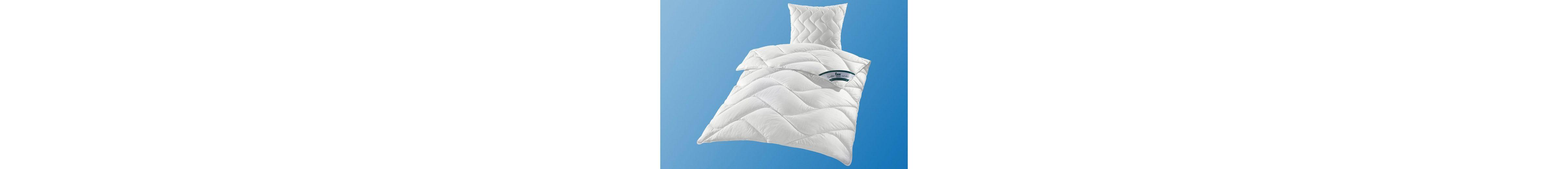 Set: Kunstfaserbettdecken + Kopfkissen, »DACRON® 95° C«, f.a.n., Warm