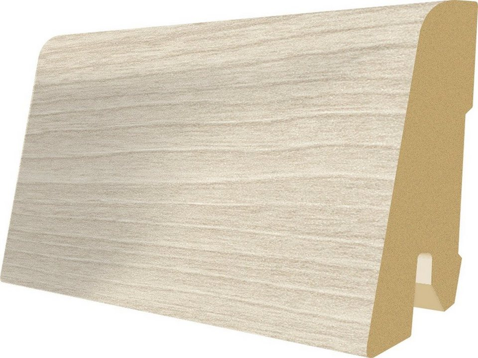 Sockelleisten passend zum Laminat »Megafloor M2 Large«, nordic wood Nachbildung in braun