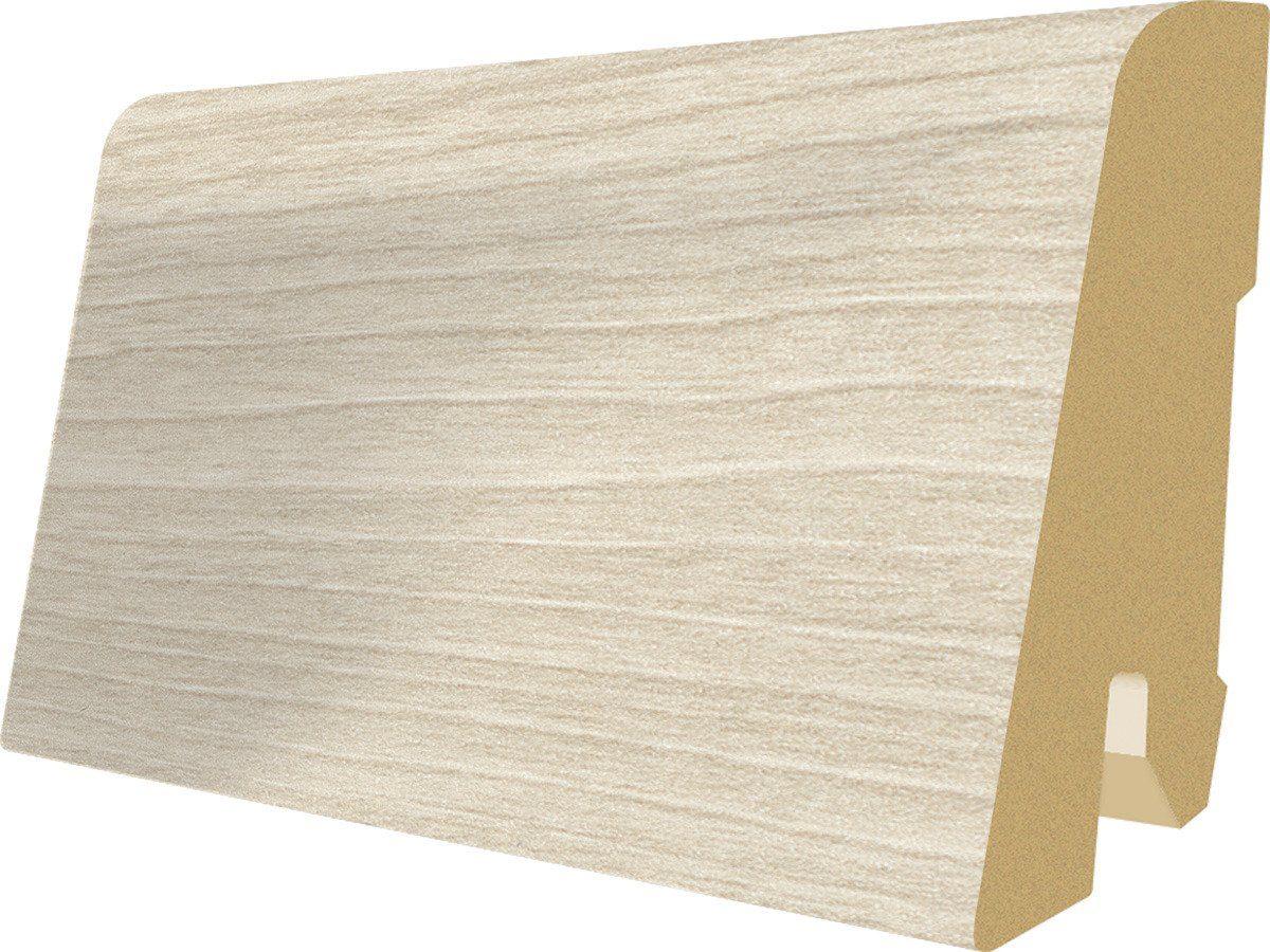 Sockelleisten passend zum Laminat »Megafloor M2 Large«, nordic wood Nachbildung