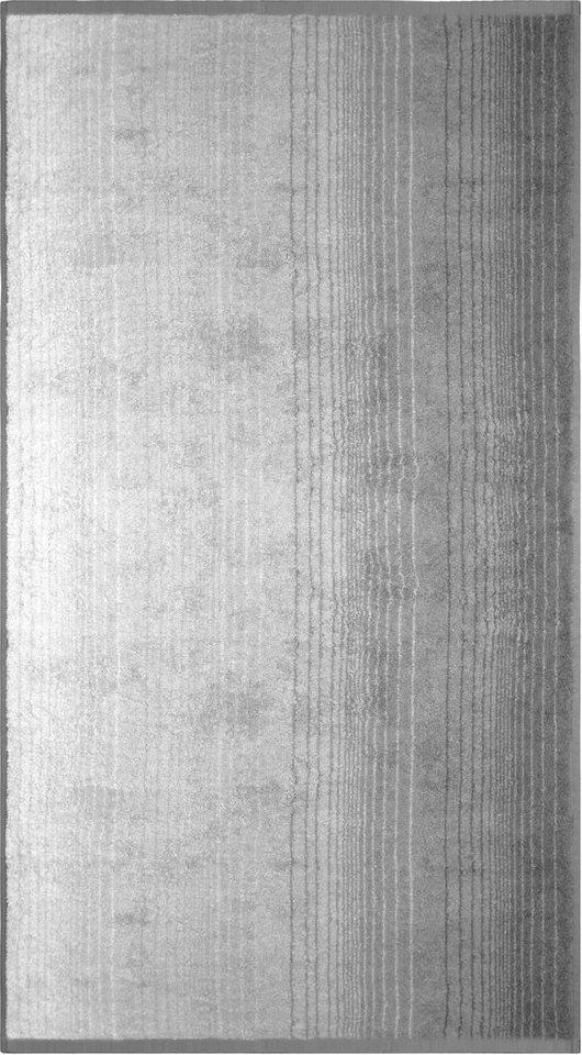 Badetuch, Dyckhoff, »Colori«, mit Farbverlauf in grau