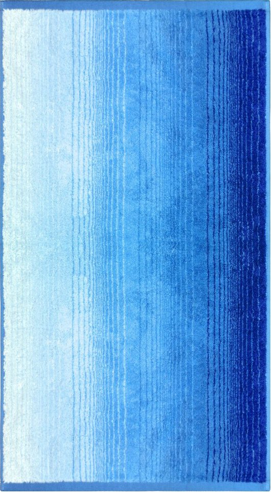 Strandtuch, Dyckhoff, »Colori«, mit Farbverlauf in blau