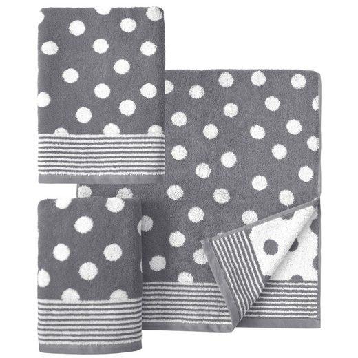 Dyckhoff Handtuch Set »Dots«, mit Punkten