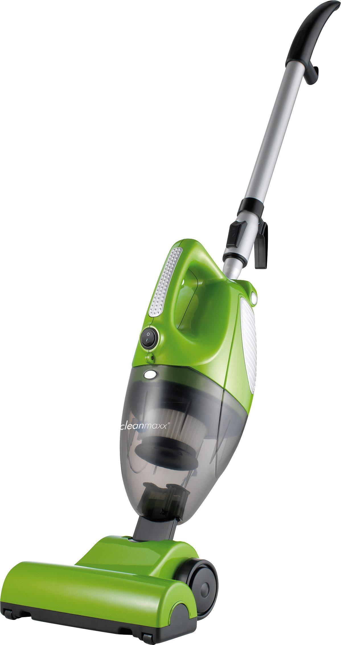 Clean Maxx Turbo-Handstaubsauger 3in1, mit Bodendüse, Beutellos, B, grün