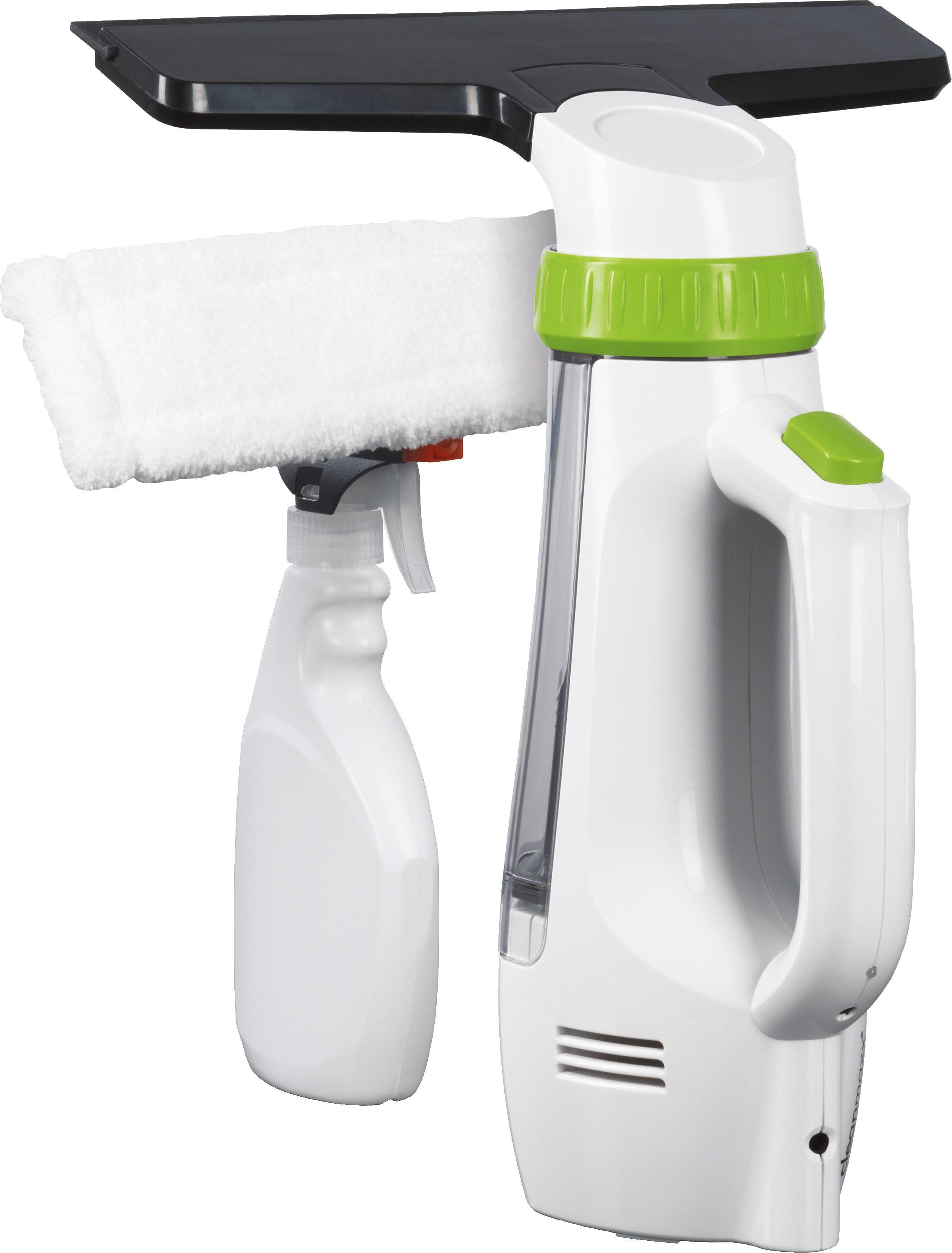Clean Maxx Akku-Fensterreiniger Professional weiß-limegreen