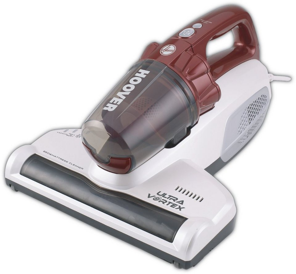 Hoover Matratzenreiniger UltraVortex MBC 500 UV in weiss / rot transparent