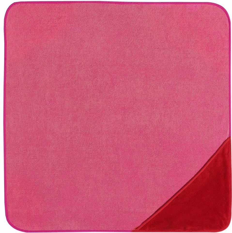 Kapuzenhandtuch, Vossen, »Bixie«, saugfähige Qualität in rot