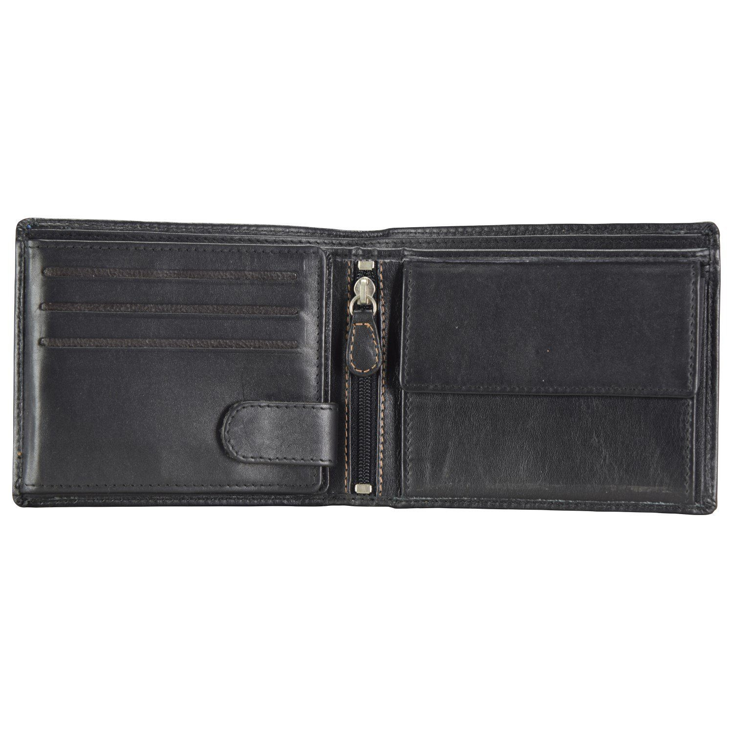 Maître M-Collection Merlin Giselher BillFold H9 Geldbörse Leder 12 cm