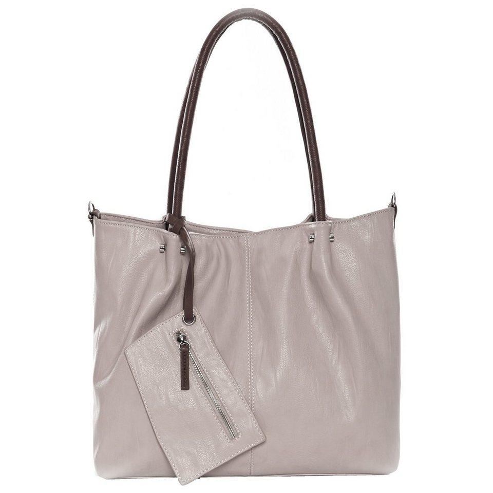 Maestro Surprise Bag in Bag Shopper Tasche 41 cm in birke schlamm