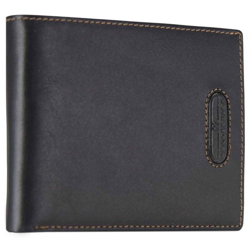 Maître M-Collection Merlin Gathman BillFold H12 Geldbörse Leder 13 cm in black