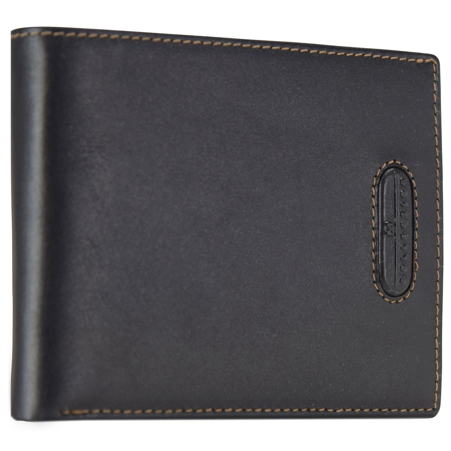 Maître M-Collection Merlin Gathman BillFold H12 Geldbörse Leder 13 cm