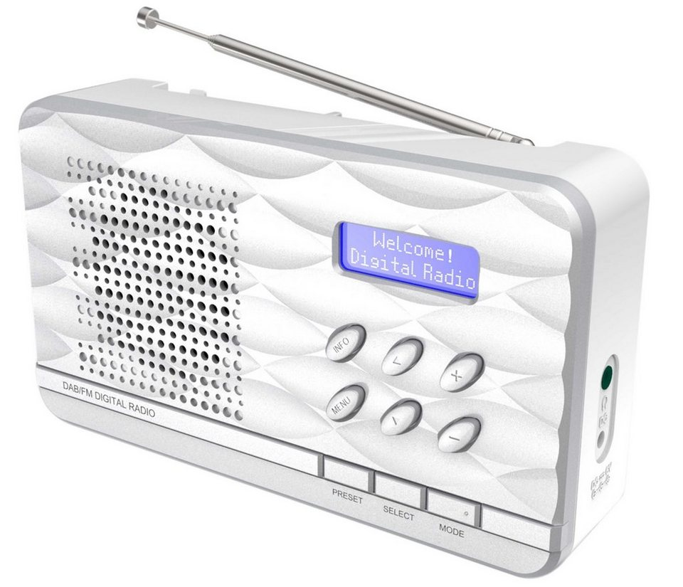 soundmaster DAB radio »DAB500« in Silber