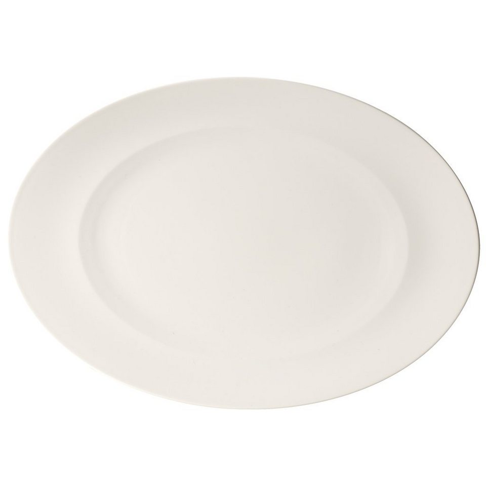 VILLEROY & BOCH Platte oval 41cm »For Me« in Weiss