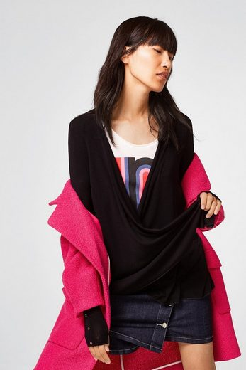 ESPRIT COLLECTION Offener Jersey-Stretch-Cardigan