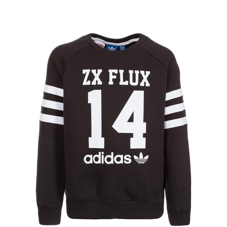 adidas Originals Logo Essentials Crew Sweatshirt Kinder in schwarz / weiß