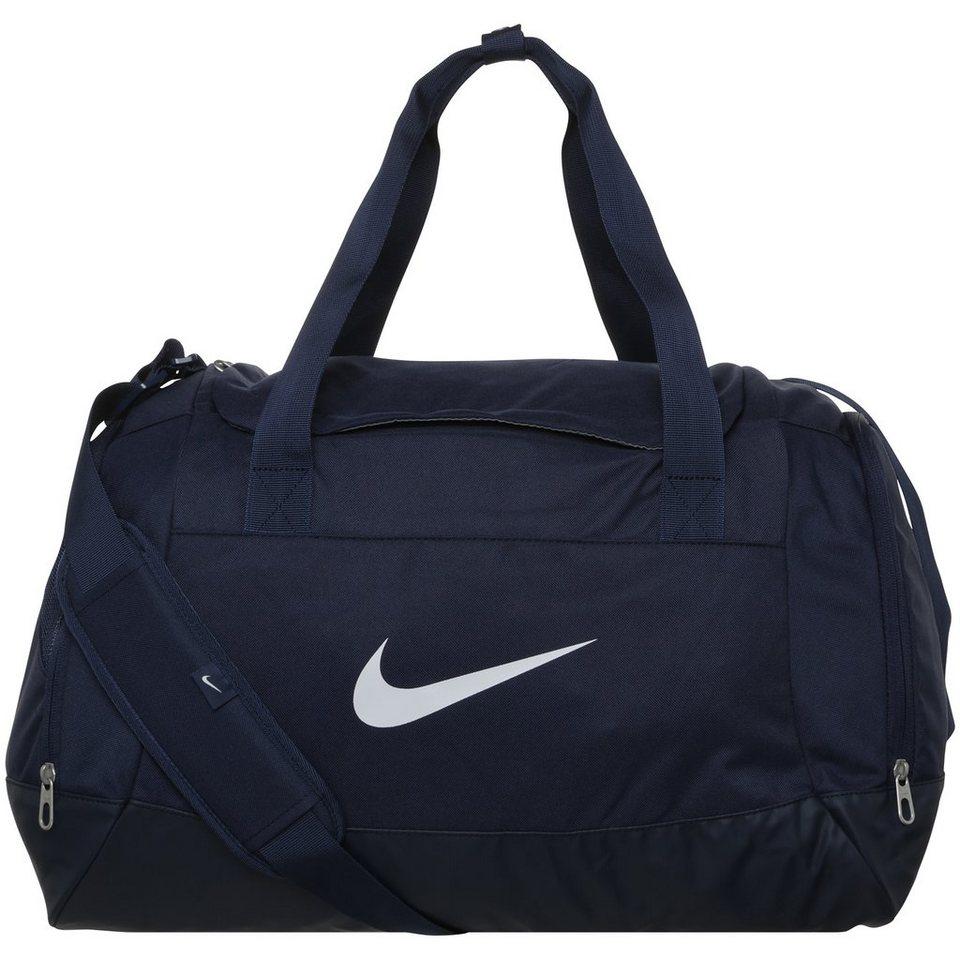 NIKE Club Team Swoosh Sporttasche Small in dunkelblau / weiß