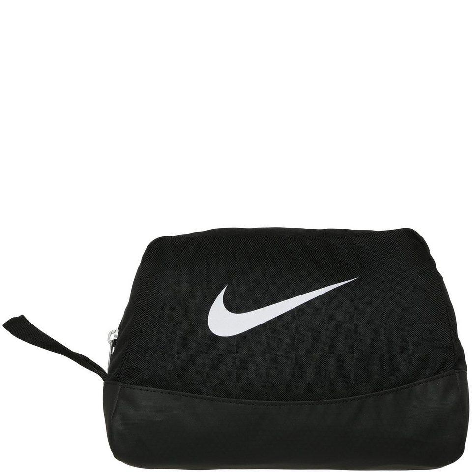 NIKE Club Team Swoosh Kulturtasche in schwarz / weiß
