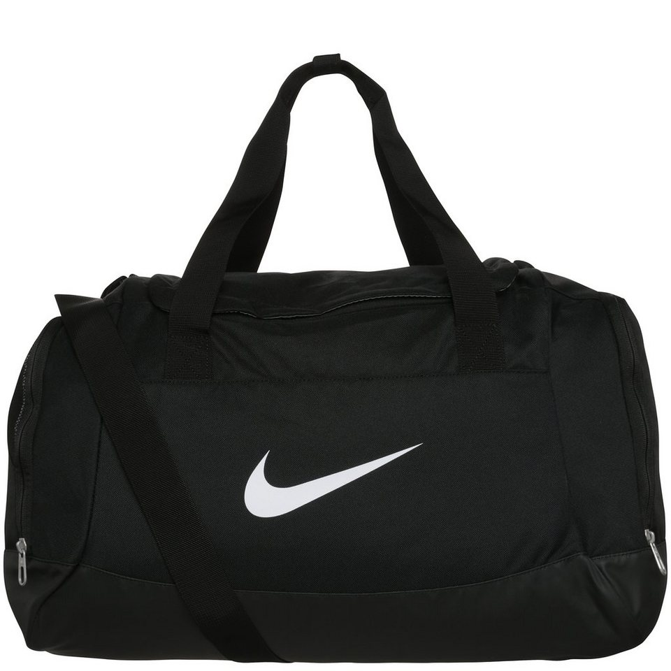 NIKE Club Team Swoosh Sporttasche Small in schwarz / weiß
