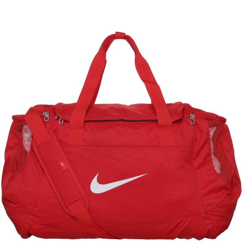 NIKE Club Team Swoosh Sporttasche Medium in rot / schwarz