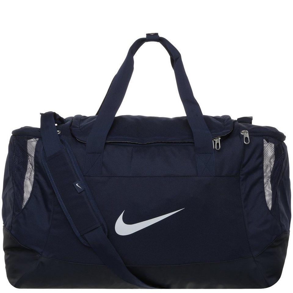 NIKE Club Team Swoosh Sporttasche Medium in dunkelblau / schwarz