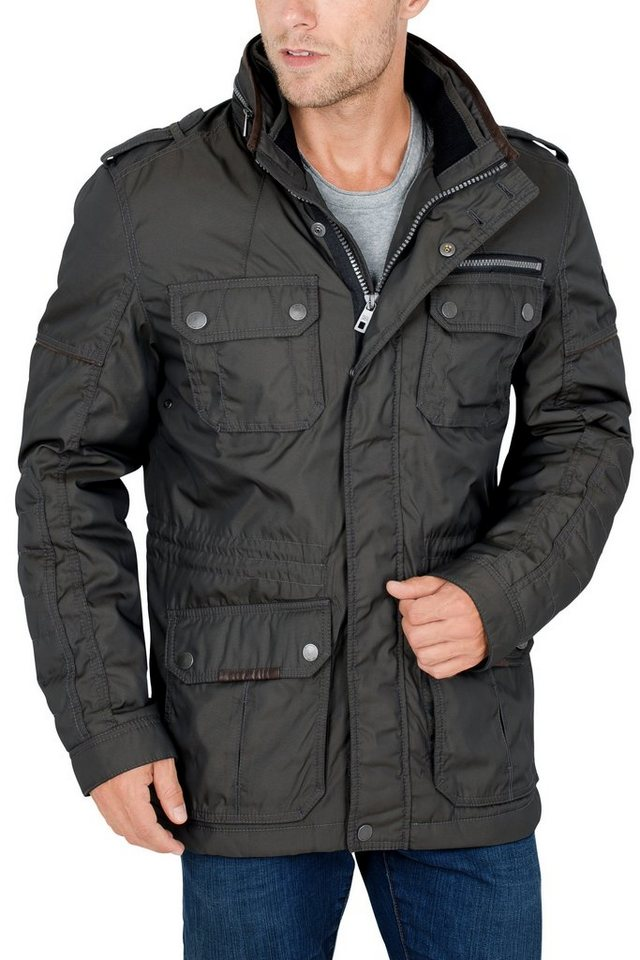 S4 Jackets Betweenjacket »GODZILLA« in dk. olive