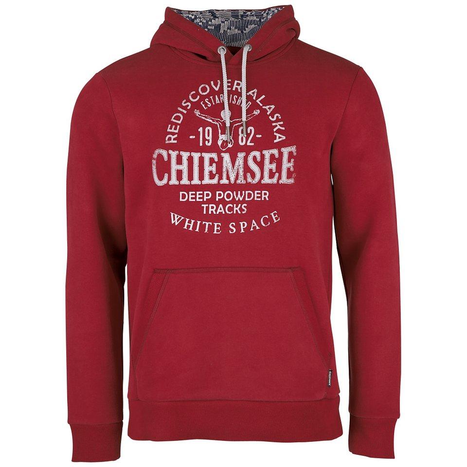 Chiemsee Herren Kapuzensweatshirt »KWANDO« in biking red
